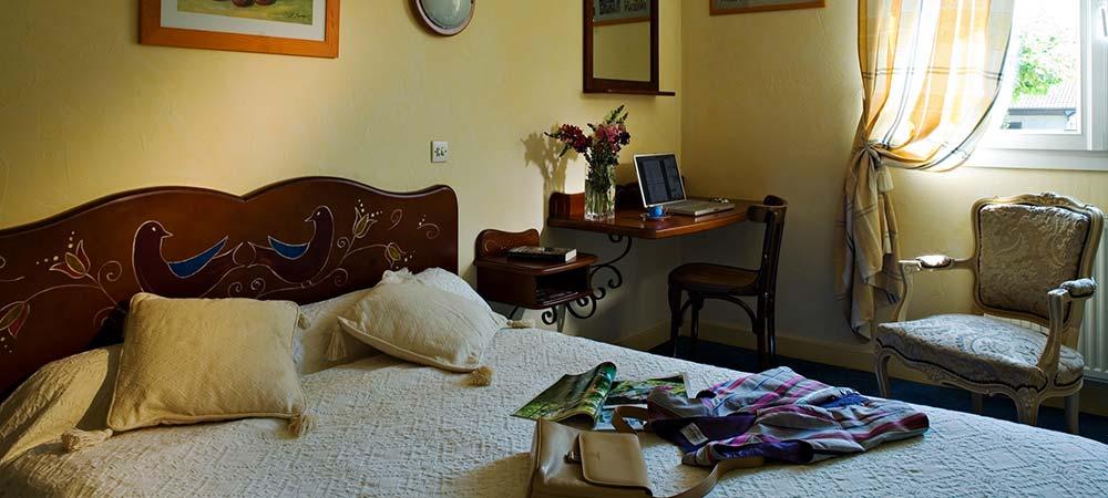Chambres hôtel Aix les Bains